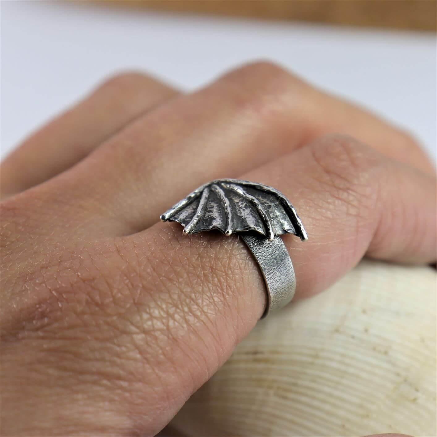 Pierścionek Dragon Wing