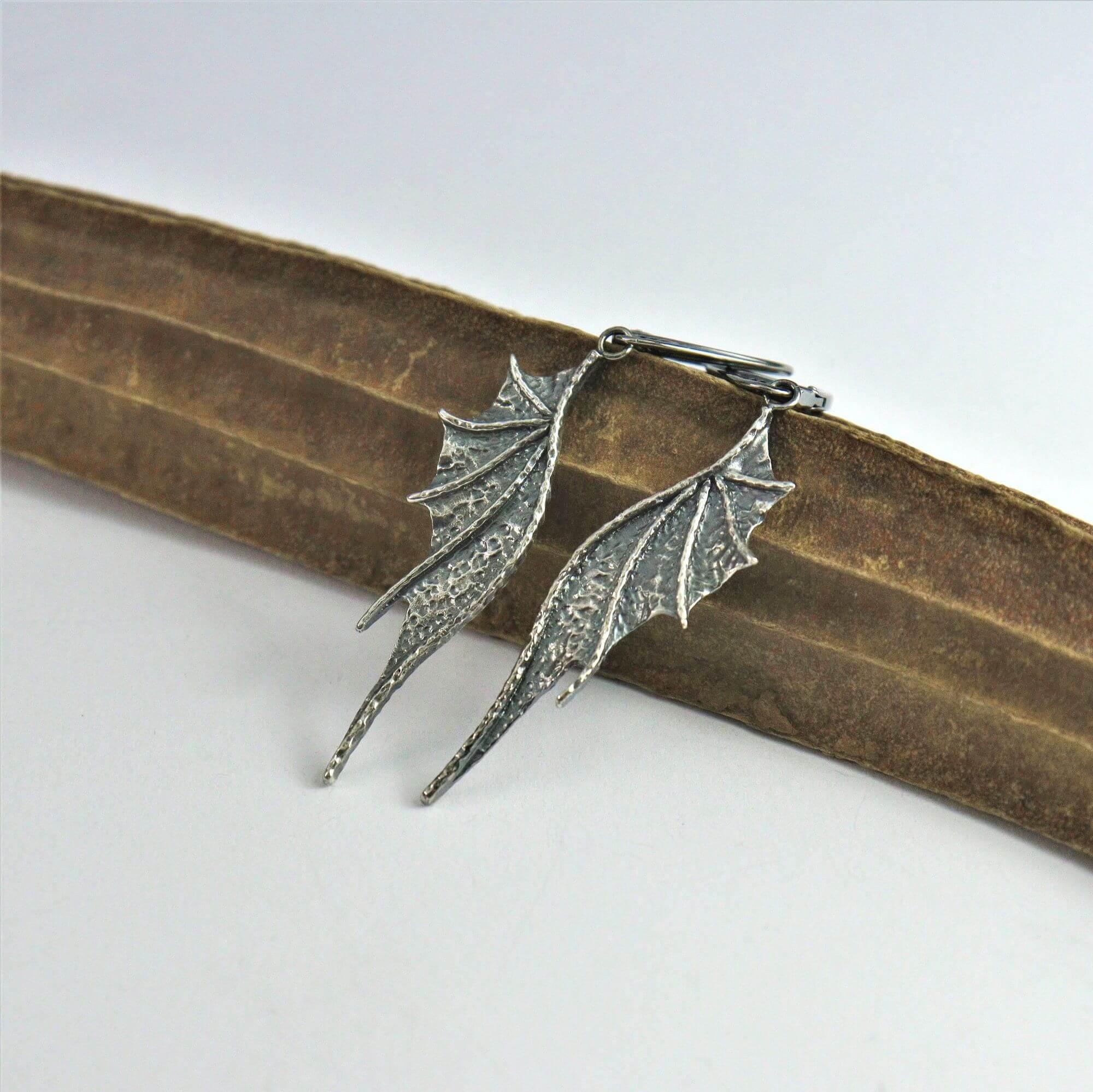 Kolczyki Long Dragon Wings sote