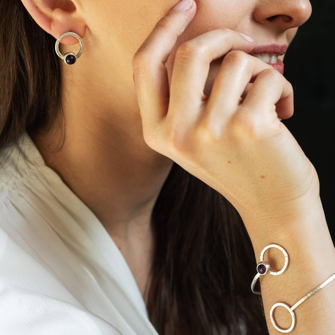 Kolczyki Simple z perłami